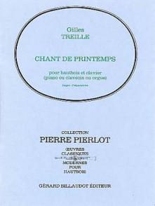 TREILLE G. CHANT DE PRINTEMPS HAUTBOIS