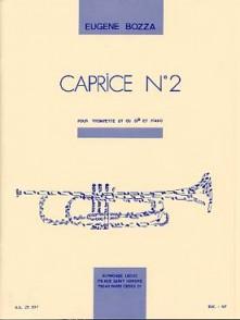 BOZZA E. CAPRICE N°2 TROMPETTE