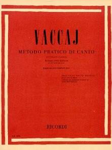 VACCAI N. METHODE PRATIQUE DE CHANT VOIX GRAVE