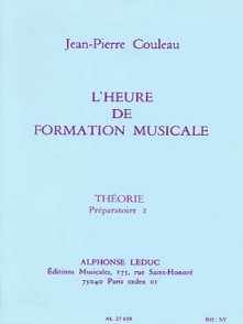 COULEAU J.P. HEURE DE FORMATION MUSICALE P2 THEORIE