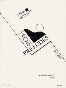 DUTILLEUX H. PRELUDES PIANO