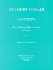 VIVALDI A. CONCERTO RV 452 FVII:17 HAUTBOIS