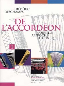 DESCHAMPS F. DE L'ACCORDEON 1