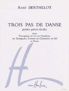 BERTHELOT R. TROIS PAS DE DANSE TROMPETTE