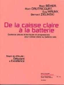 BEMER A./DAUTRICOURT A./MAUNY G./ZIELINSKY B. DE LA CAISSE CLAIRE A LA BATTERIE