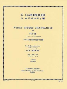 GARIBOLDI G. 20 ETUDES CHANTANTES OP 88 FLUTE