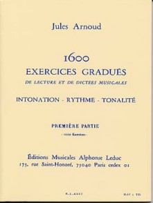 ARNOUD J. 1600 EXERCICES GRADUES 1RE PARTIE