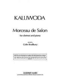 KALLIWODA J.W. MORCEAU DE SALON CLARINETTE
