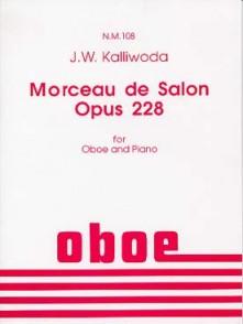 KALLIWODA J.W. MORCEAU DE SALON OP 228 HAUTBOIS