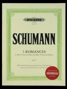 SCHUMANN R. 3 ROMANCES OP 94 HAUTBOIS