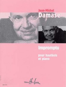 DAMASE J.M.  IMPROMPTU HAUTBOIS