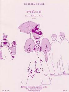 FAURE G. PIECE FLUTE OU HAUTBOIS