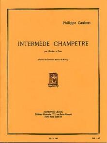 GAUBERT P. INTERMEDE CHAMPETRE HAUTBOIS