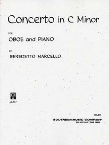 MARCELLO B. CONCERTO C MOLL HAUTBOIS