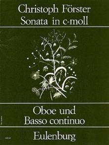 FORSTER C. OBOE SONATA IN C MOLL HAUTBOIS