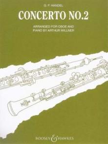 HAENDEL G.F. CONCERTO N°2 HAUTBOIS