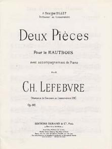 LEFEBVRE CH. E.PIECES HAUTBOIS