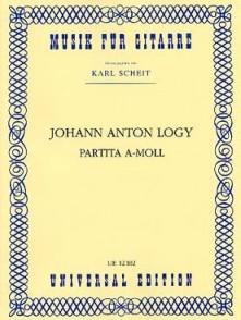 LOGY J.A. PARTITA LA MINEUR GUITARE