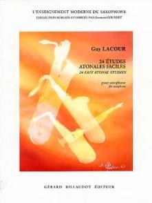 LACOUR G. ETUDES ATONALES FACILES SAXO
