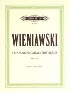 WIENIAWSKI H. MAZURKAS CARACTERISTIQUES OP 19 VIOLON