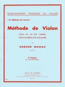 MASSAU A. METHODE DE VIOLON VOL 5