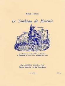 TOMASI H. LE TOMBEAU DE MIREILLE FLUTE