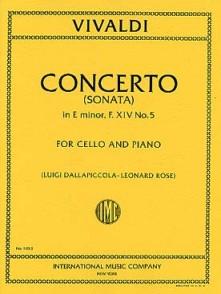 VIVALDI A. CONCERTO E MINOR VIOLONCELLE