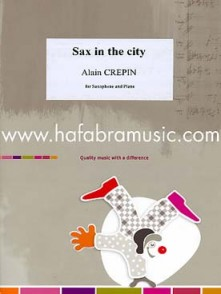 CREPIN A. SAX IN THE CITY SAXOPHONE