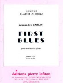 CARLIN A. FIRST BLUES TROMBONE