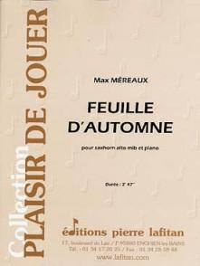 MEREAUX M. FEUILLE D'AUTOMNE SAXHORN ALTO