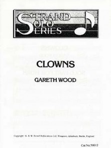 WOOD G. CLOWNS SAXHORN ALTO SOLO
