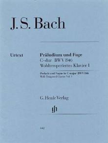 BACH J.S. PRELUDE ET FUGUE BWV 846 PIANO