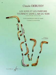 DEBUSSY C. SONS PARFUMS TOURNENT DANS L'AIR DU SOIR SAXO MIB