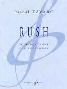 ZAVARO P. RUSH SAXO SOLO