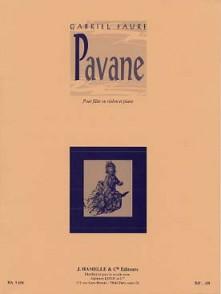 FAURE G. PAVANE OP 50 FLUTE OU VIOLON