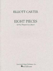 CARTER E. PIECES FOR TIMPANI
