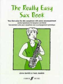 HARRIS P. REALLY EASY SAX BOOK SAXO MIB