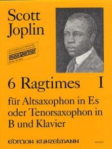 JOPLIN S. 6 RAGTIMES VOL 1 SAXO EB