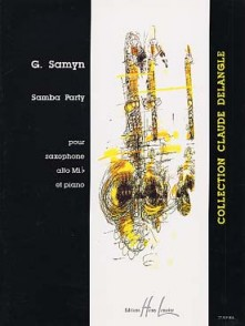 SAMYN G. SAMBA PARTY SAXO MIB