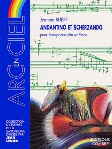 RUEFF J. ANDANTINO SCHERZANDO SAXO MIB