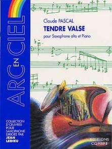 PASCAL C. TENDRE VALSE SAXO MIB