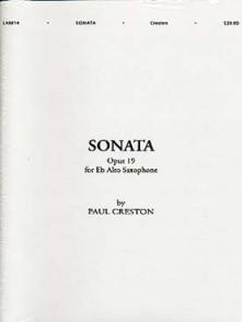 CRESTON P. SONATA OP 19 SAXO MIB