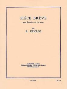 DUCLOS R. PIECE BREVE SAXO MIB