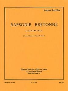 BARILLER R. RAPSODIE BRETONNE SAXO MIB