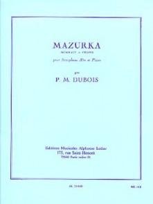 DUBOIS P.M. MAZURKA SAXO MIB