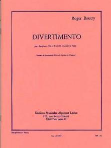 BOUTRY R. DIVERTIMENTO SAXO MIB