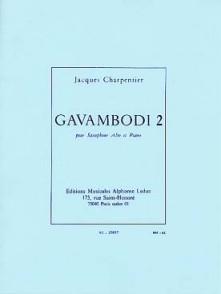 CHARPENTIER J. GAVAMBODI SAXO MIB