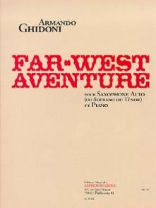 GHIDONI A. FAR WEST AVENTURE SAXO MIB