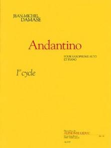 DAMASE J.M. ANDANTINO SAXO MIB