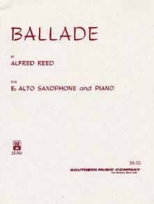 REED A. BALLLADE SAXO MIB